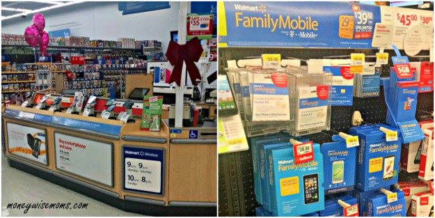 Walmart Phone Center| Tween Phone Contract | #TheGiftofData Walmart Family Mobile