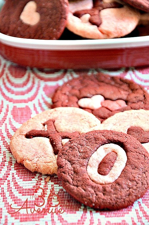 Red Velvet Cookies from The 36th Avenue | Valentine Sweets