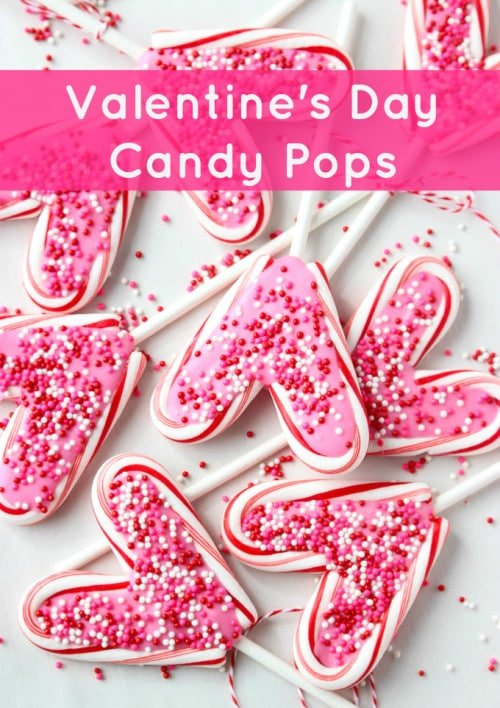Valentines Day Candy Pops from Little Broken | Valentine Sweets