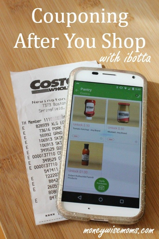 Save money on groceries | Couponing after you shop with ibotta app