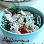 Mediterranean Shrimp Pasta Salad