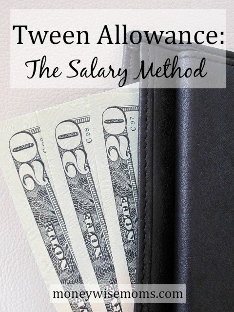"""Rather than the traditional dollars-per-week tween allowance, we pay our son a bi-weekly salary, and he's responsible for some """"needs"""" as well as """"wants."""""""