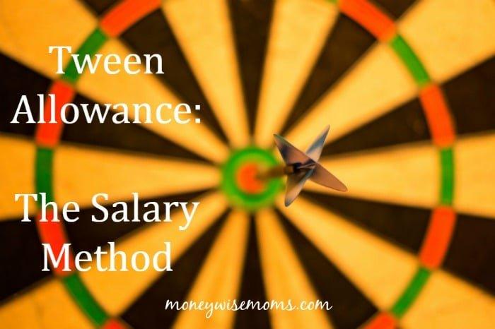 Tween Allowance - The Salary Method - how we're instilling financial responsibility in our tween