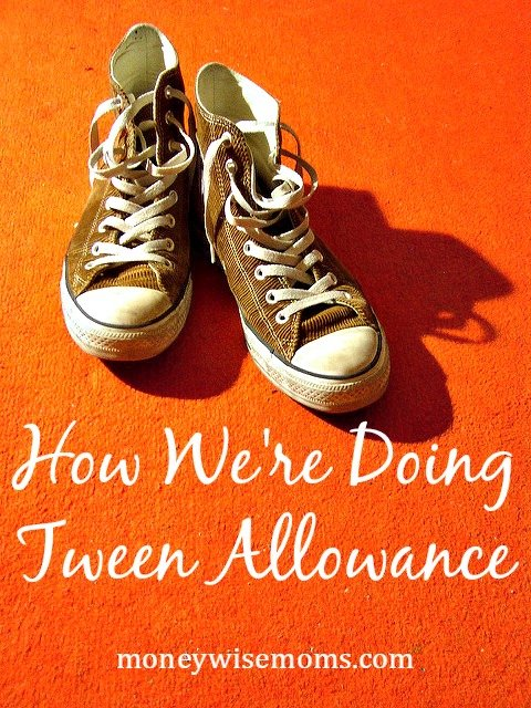 "Rather than the traditional dollars-per-week Tween Allowance, we pay our son a bi-weekly salary, and he's responsible for some ""needs"" as well as ""wants."""
