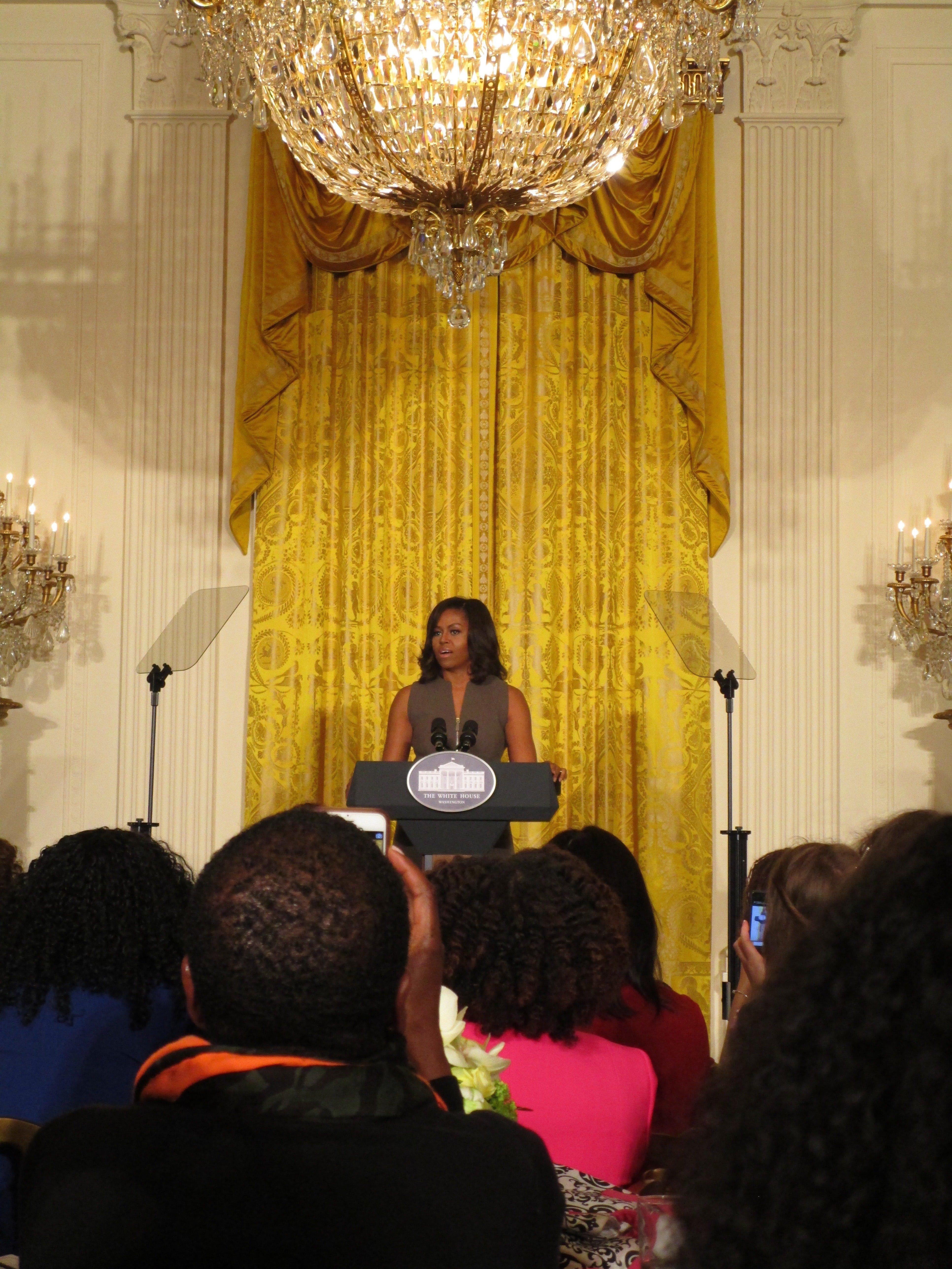Michelle Obama Let's Move!