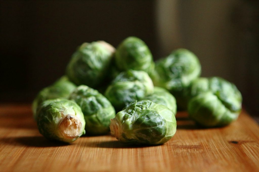 Roasted Brussels Sprouts - easy side dish