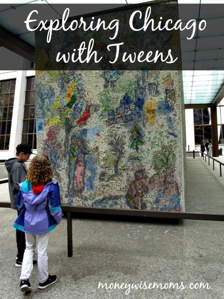 Exploring Chicago with Tweens | family travel