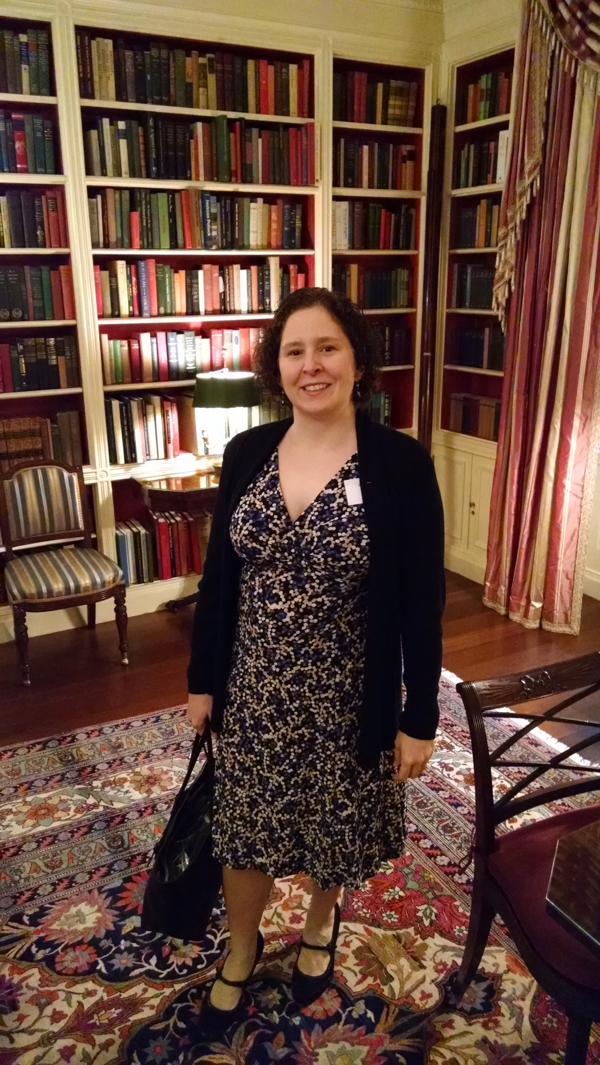 In the White House Library