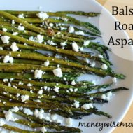 Balsamic Roasted Asparagus {Tasty Tuesdays}