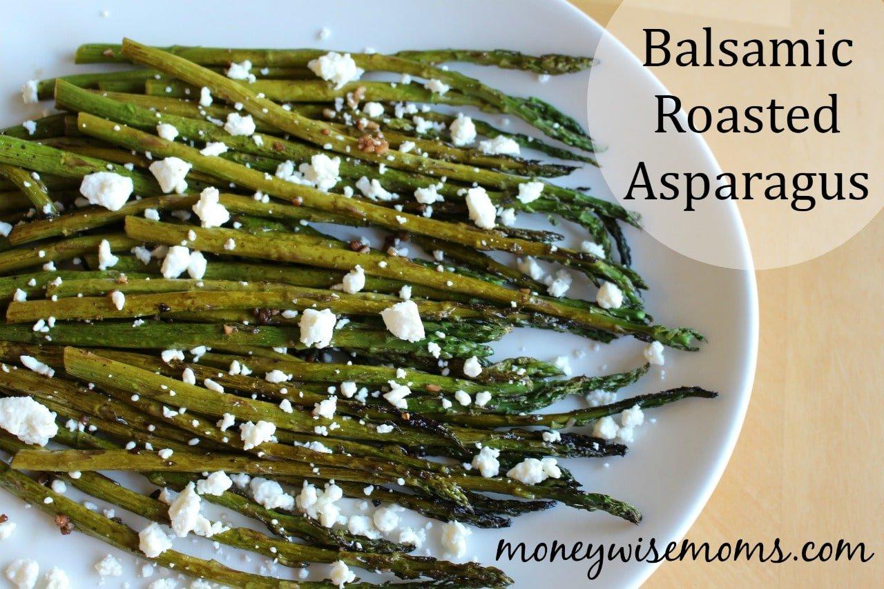 Balsamic Roasted Asparagus