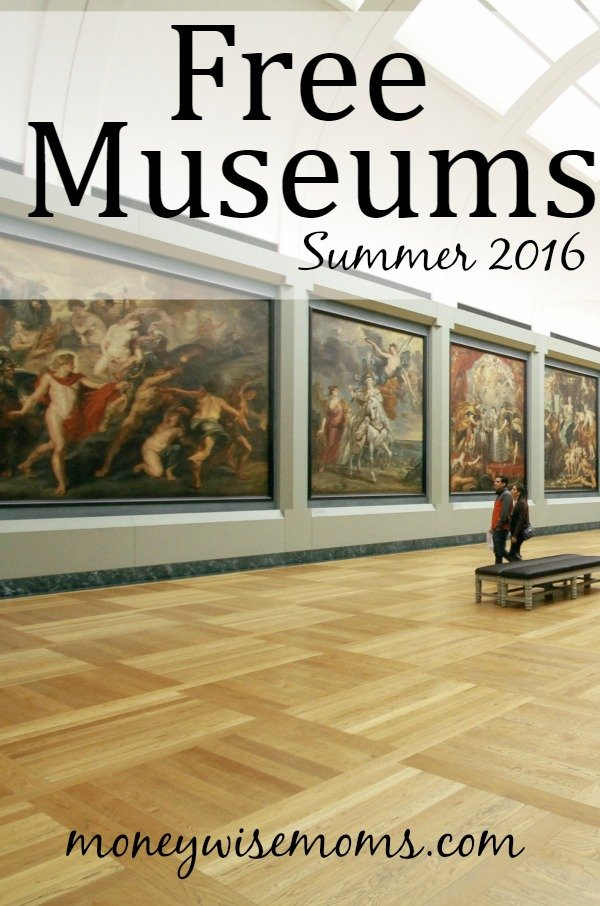 How to get free admission to museums | Summer 2016 | free museums