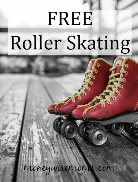 Free Roller Skating | where to take the kids for FREE roller skating this summer!