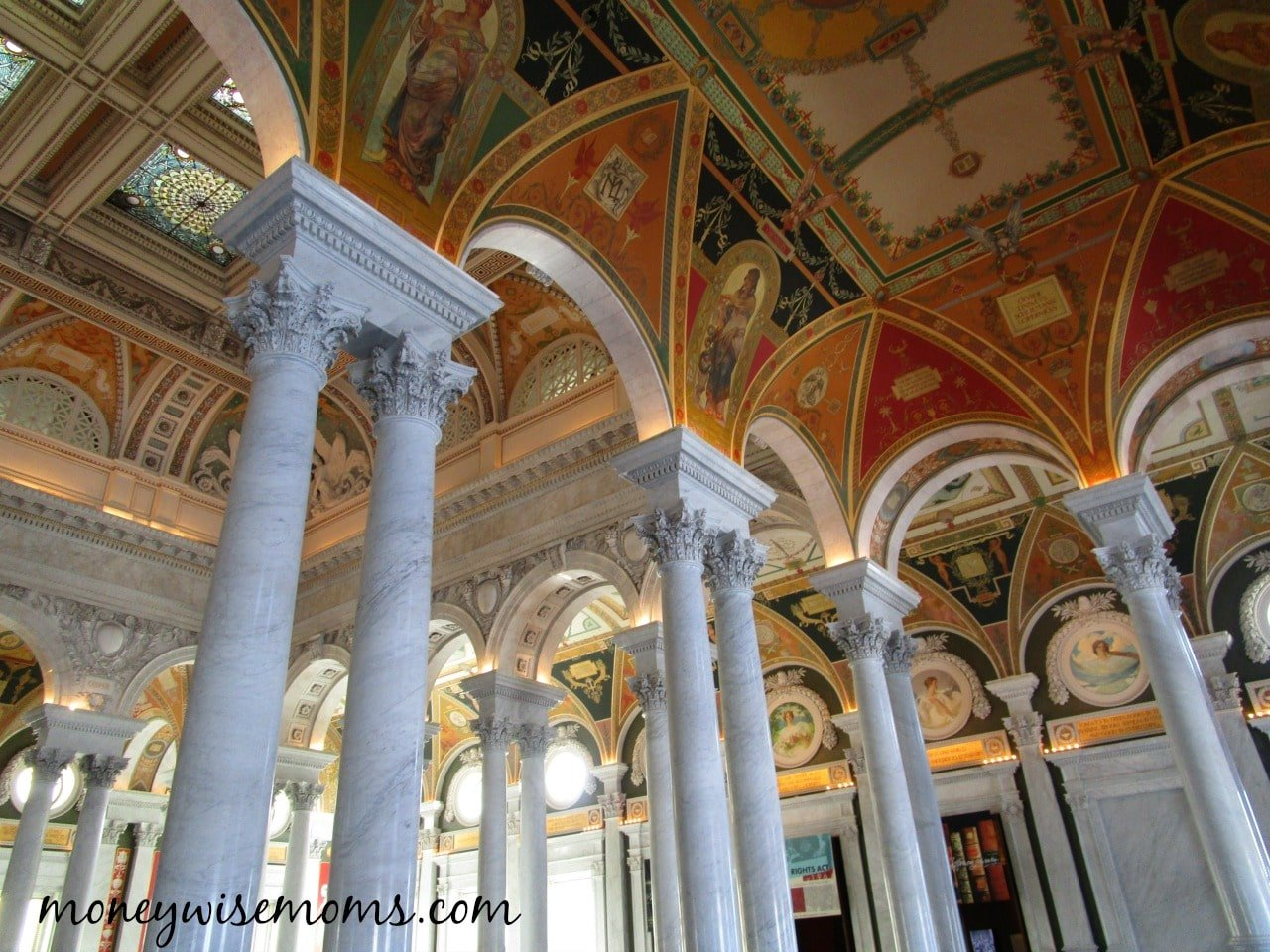 Library of Congress | 20 Free Things to Do in Washington DC with Tweens | family travel