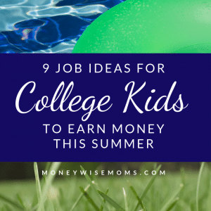 Summer Jobs for Teens and College Kids