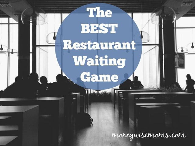 Engage with your family while waiting at a restaurant with the BEST restaurant waiting game! How to play with tweens