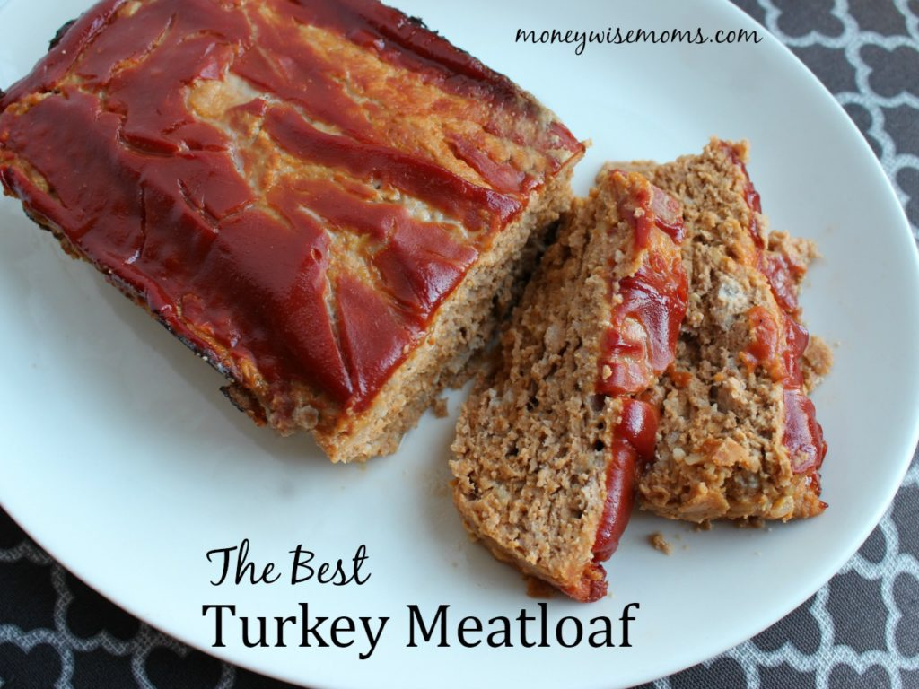 The Best Turkey Meatloaf | a moist, delicious dinner that's perfect for the family