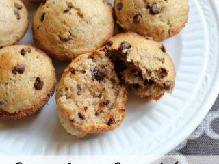 Chocolate Chip Wheat Mini Muffins