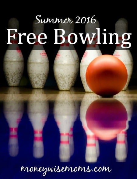 Free Bowling: Summer 2016