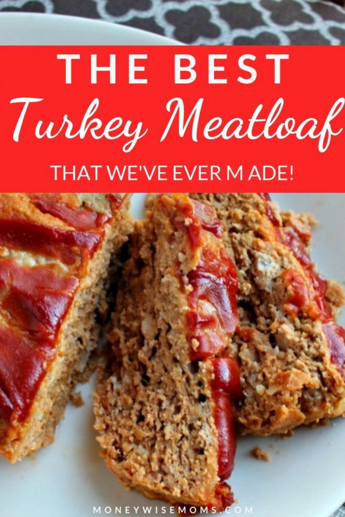 easy ground turkey meatloaf recipe