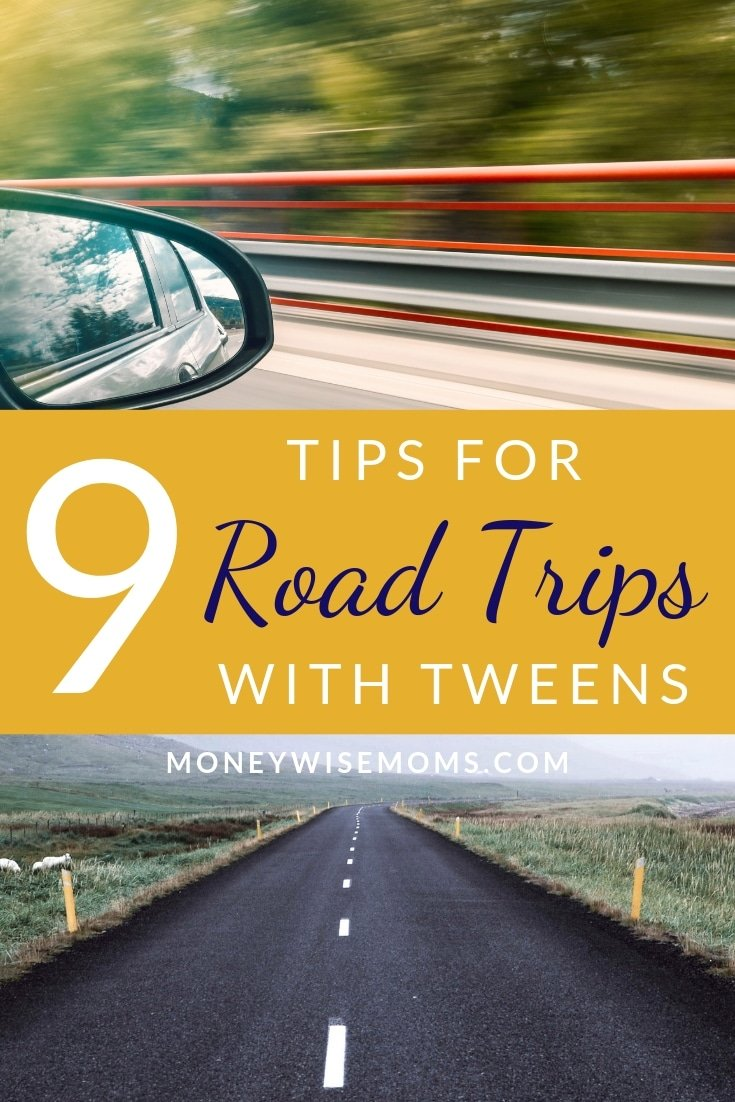 Family travel tips for road trips with tweens