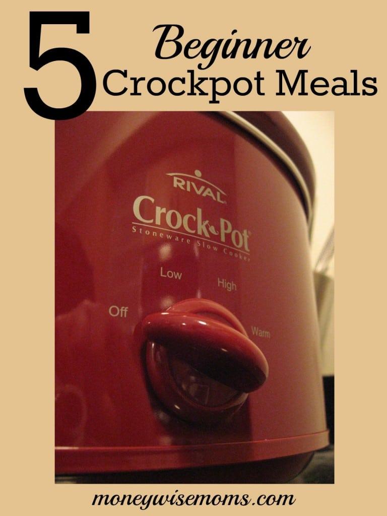 5 Beginner Crockpot Meals