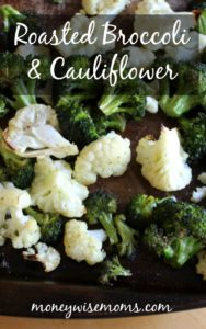Roasted Broccoli Cauliflower