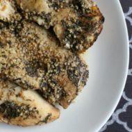Garlic Thyme Chicken {Tasty Tuesdays}