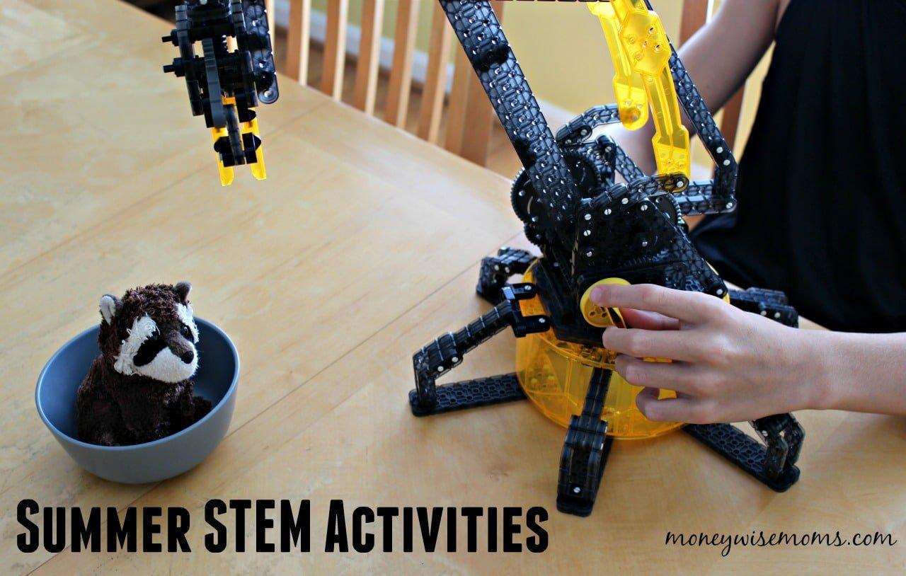 Vex Robotics Robotic Arm | Summer STEM Activities for Tweens