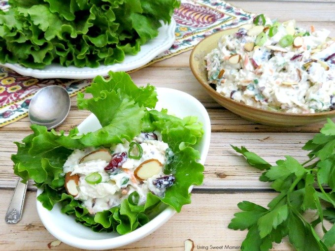 Balsamic Chicken Salad from Living Sweet Moments