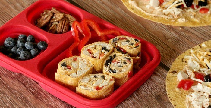 Chicken Pinwheels from All She Cooks |