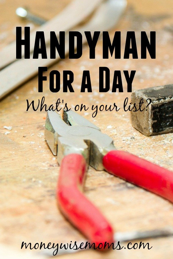 MOSS Handyman for a Day | easy way to get your To Do list done!