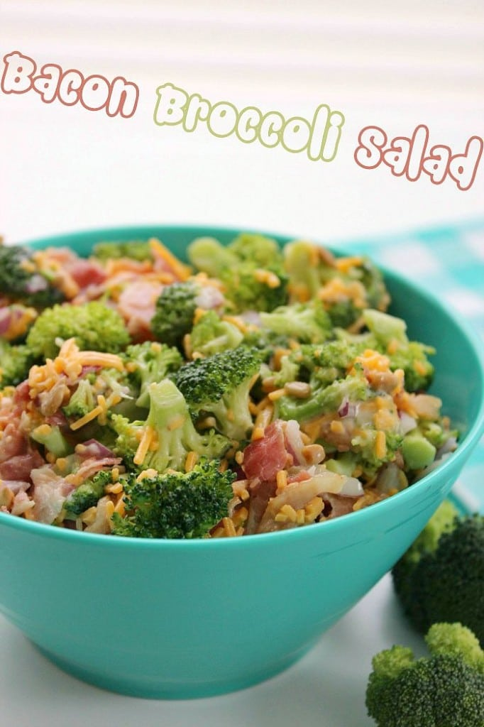 Bacon Broccoli Salad from Baking Beauty | 10 Picnic and Potluck Side Dishes