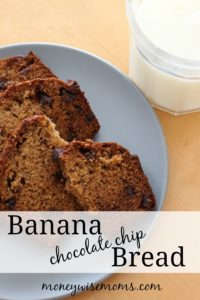 Banana Chocolate Chip Bread - Tasty Tuesdays