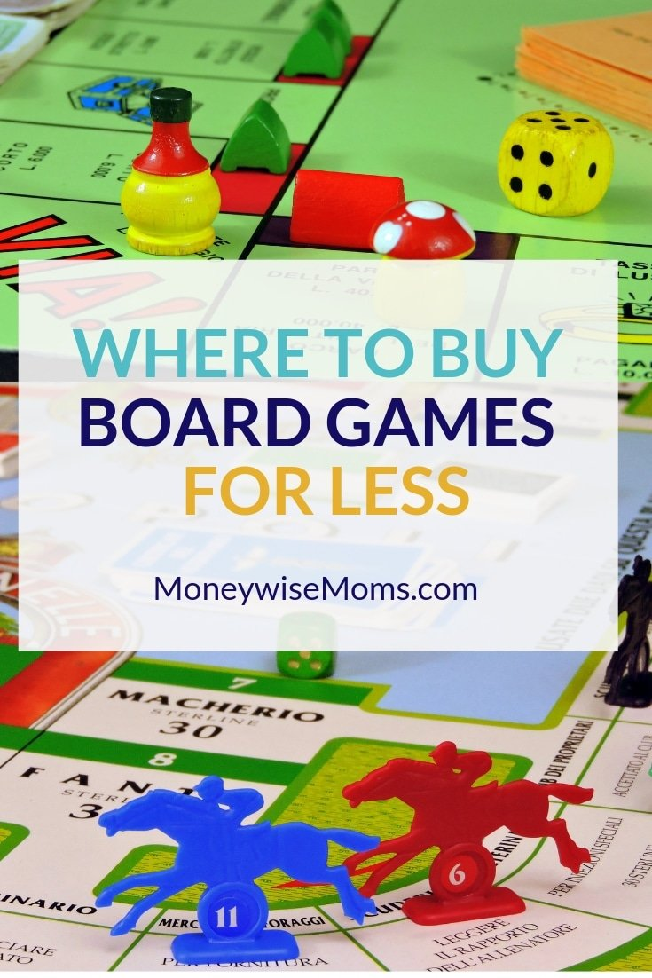 Find Board where to buy board games for less - moneywise moms