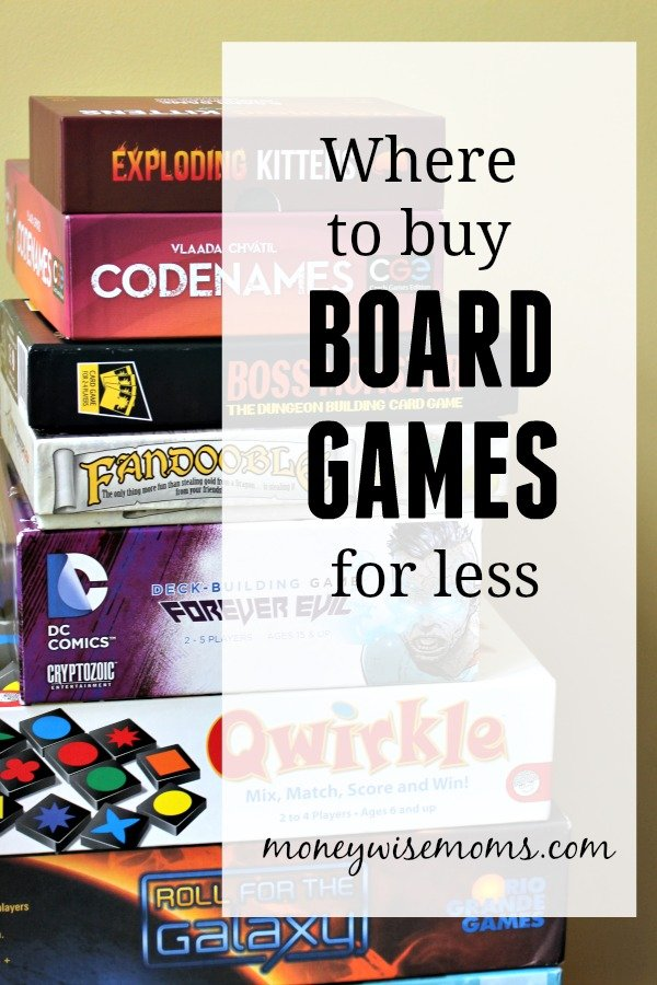 Where to buy board games for less - ways to save money on a great family tradition
