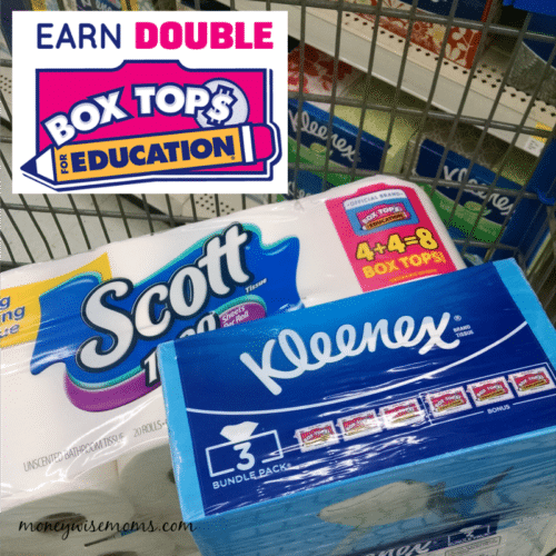Double Box Tops at Walmart for Back to School