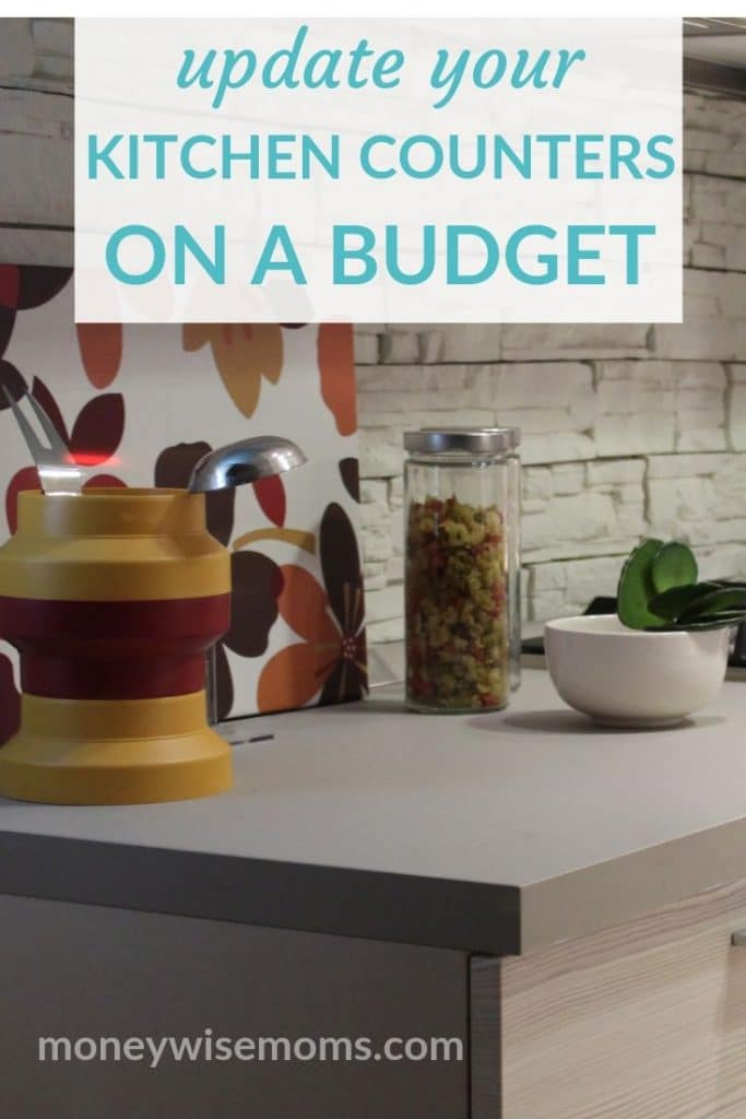 New kitchen counters on a budget