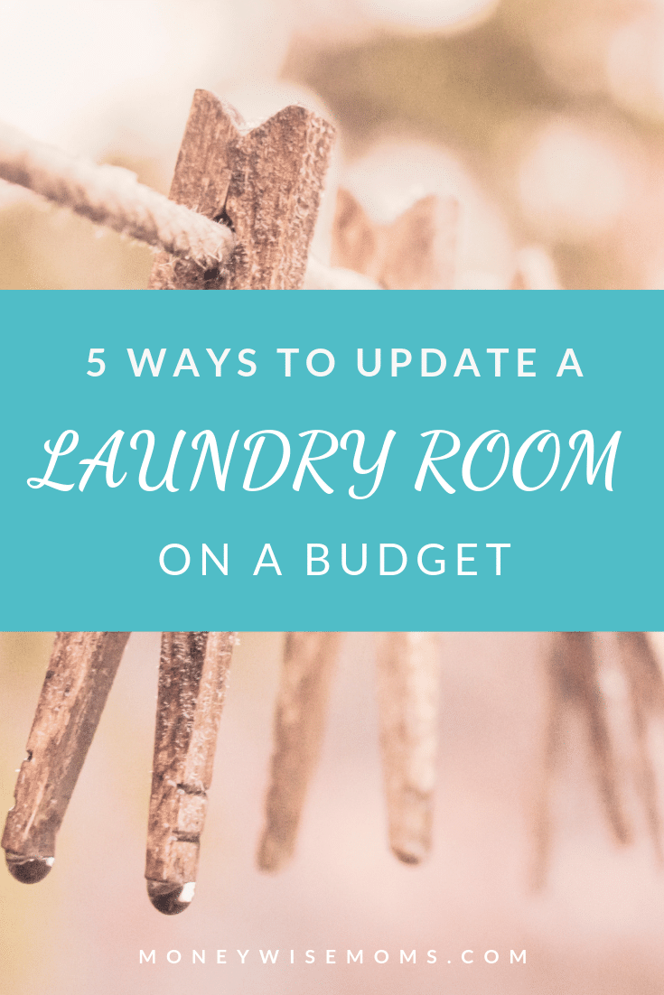 5 ways to update your laundry room on a tight budget