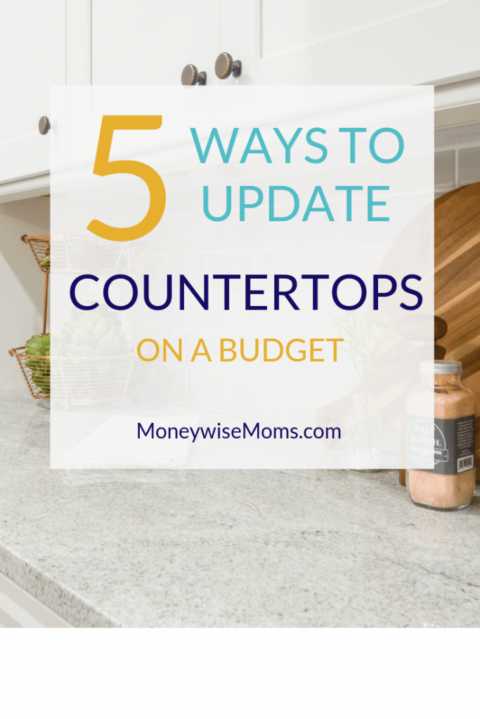 How to update your countertops on a budget