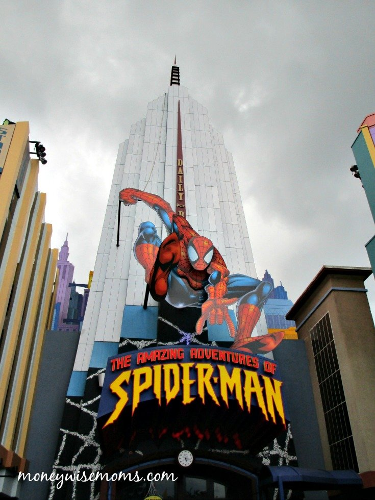 Amazing Adventures of Spider-Man Ride at Universal Orlando