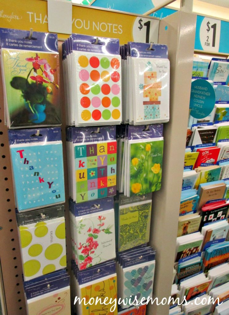 Dollar Tree Best Buys - Thank You Cards