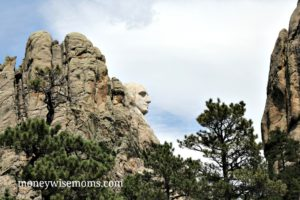 Mount Rushmore National Memorial in Keystone, South Dakota