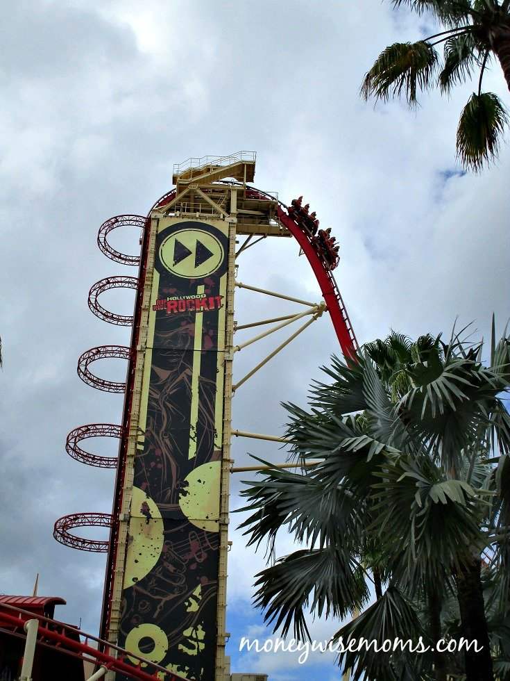 Hollywood Rip Ride Rockit at Universal Orlando