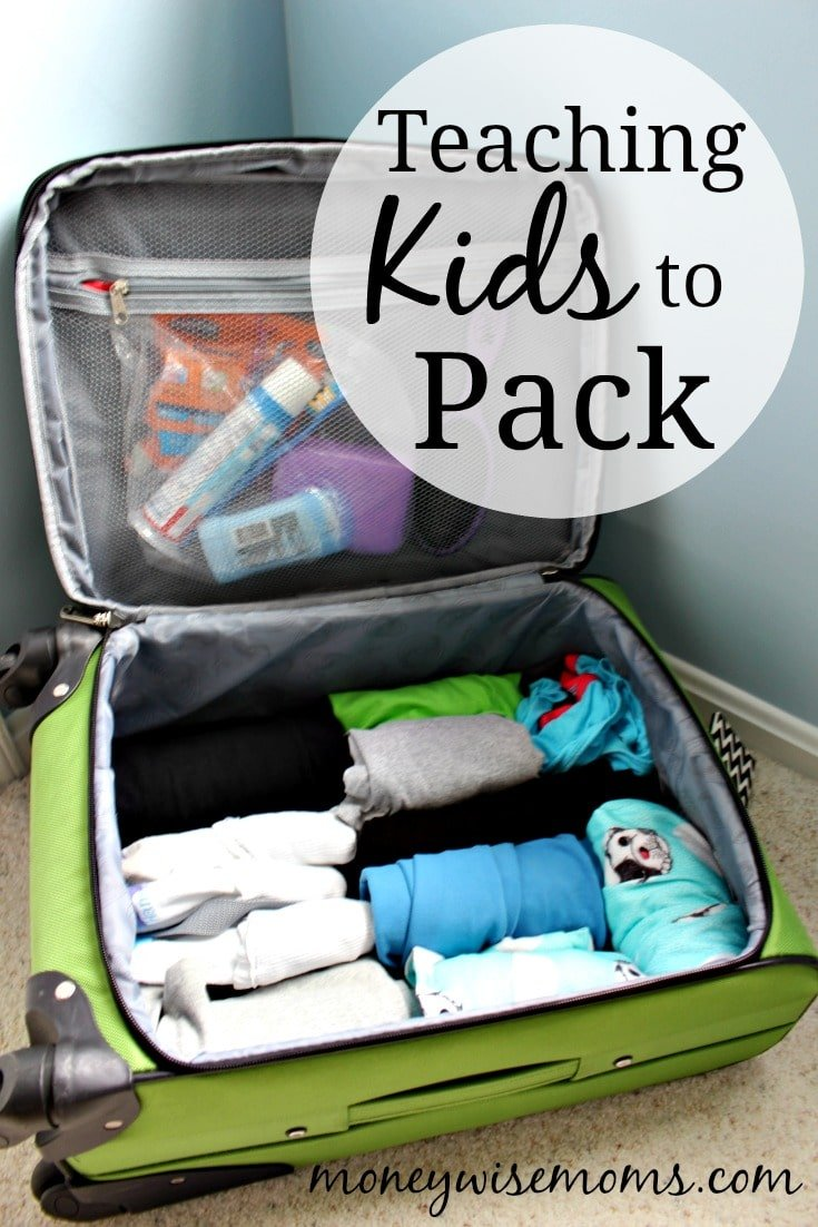 Teaching Kids to Pack for Family Travel