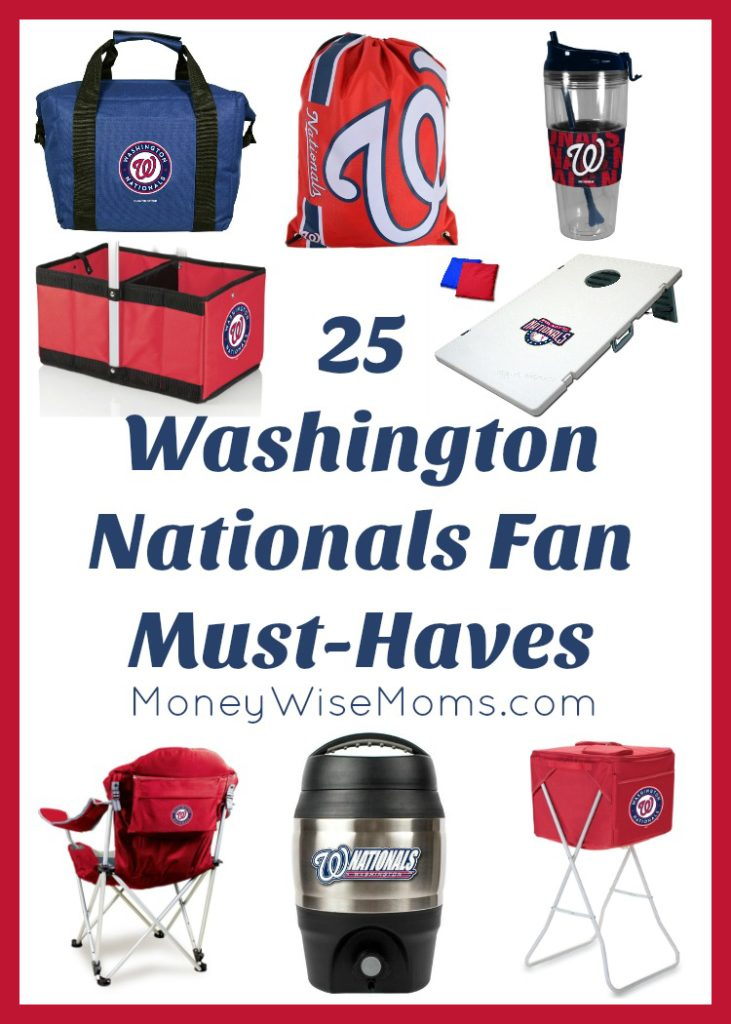 Washington Nationals Fan Must Haves - perfect gifts for the ultimate baseball fan in DC