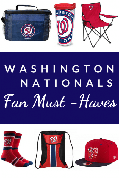 Awesome Party Supplies and Gifts for Washington Nationals Fans