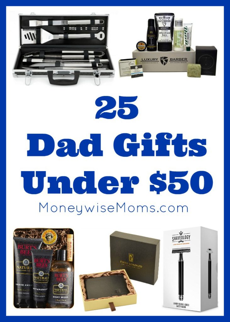 25 Dad Gifts for under $50 - perfect for holiday shopping