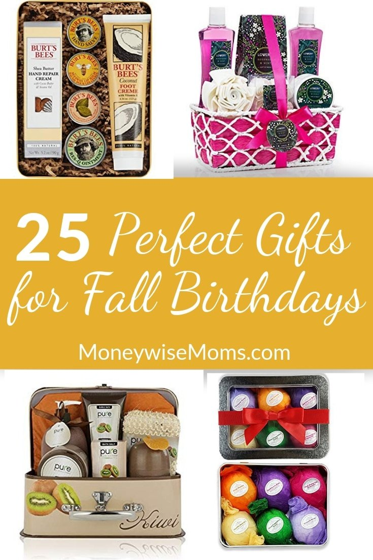 Fonkelnieuw 25 Perfect Gifts for Fall Birthdays - Moneywise Moms VP-92