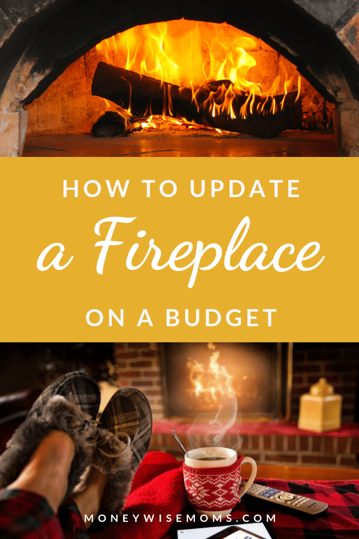 Ways to update your fireplace on a budget