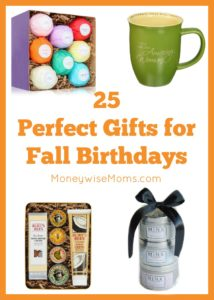 Perfect Gifts for Fall Birthdays
